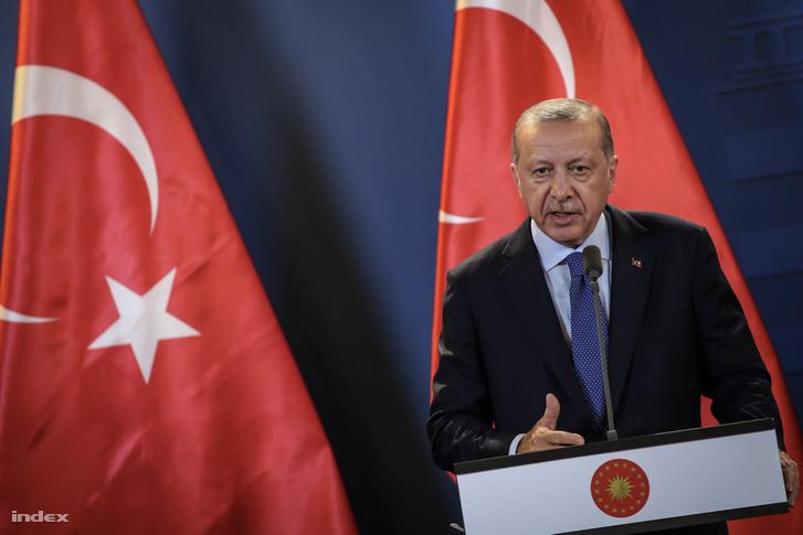 Recep Tayyip Erdogan Törökország elnöke