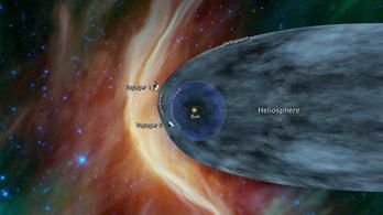 Lassan a Voyager 2 is eléri a csillagközi űrt