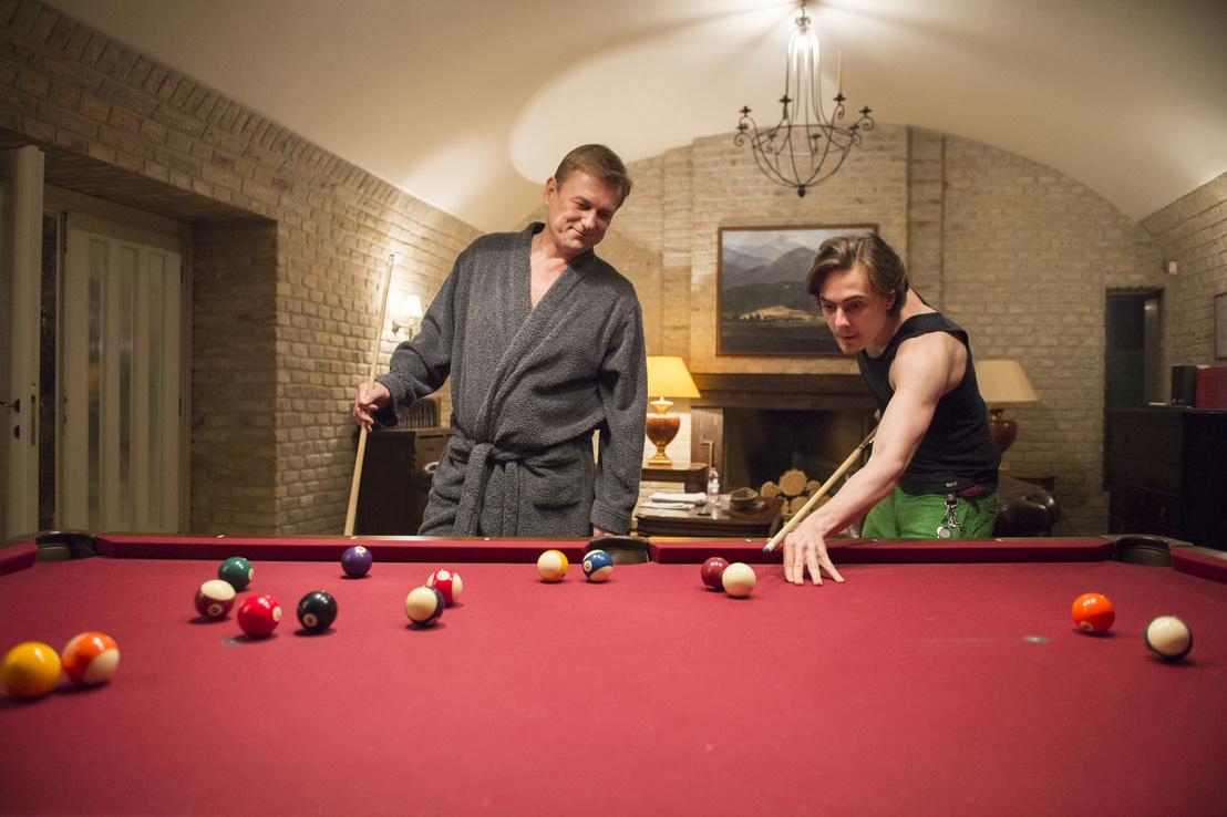 Hollós Endre (Anger Zsolt) és Miklósi Márk (Olasz Renátó), Attila fia az Aranyélet második évadában