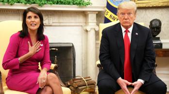 Váratlanul lemondott az amerikai ENSZ-nagykövet