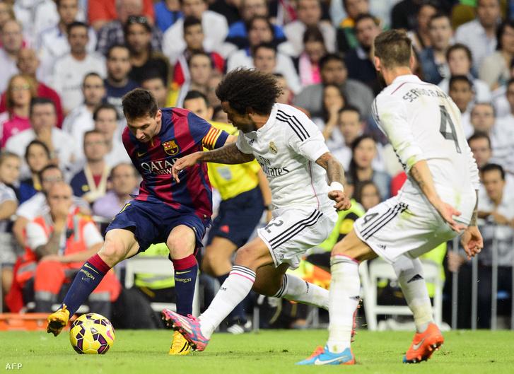 Messi, Marcelo és Sergio Ramos
