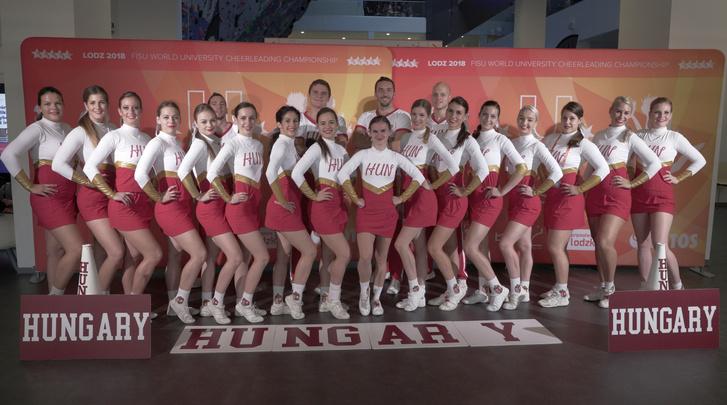Hungary Cheer EVB