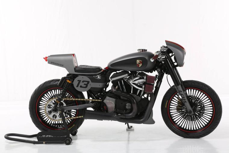 Modified Harley-Davidson második hely, Lord Drake Kustoms, 'Speedster', Spanyolország