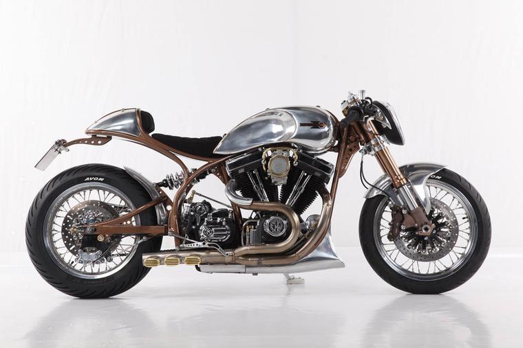 A Café Racer kategória győztese az FMW Motorcycles Hurakan nevű gépe lett, ez az S&S blokkos, 1968-as Shovelhead