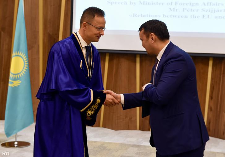 Talgat Narikbajev, a kazahsztáni KAZGUU Egyetem rektora