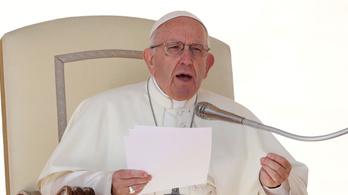 Ferenc pápa: Az abortusz olyan, mint a bérgyilkosság
