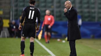 Bale miatt hagyta ott a Realt Zidane?