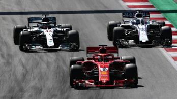F1: Stroll egy mutatóban mindenkit lever
