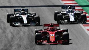 Stroll egy mutatóban mindenkit agyonver az F1-mezőnyben