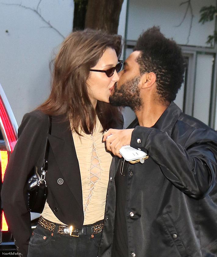 Bella Hadidot is jobban lekötött a saját születésnapja, amit pasijával, The Weeknd-del töltött.