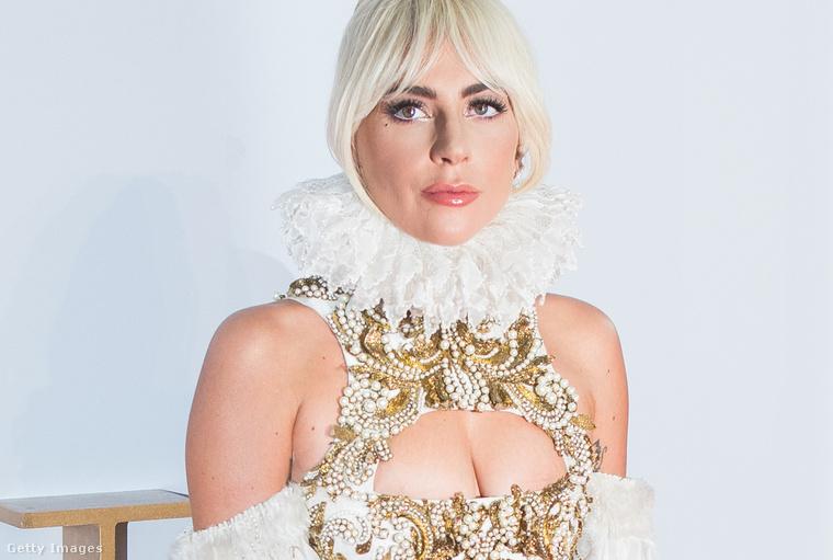 Lady Gaga a 2018-as Csillag születik londoni premierjén.