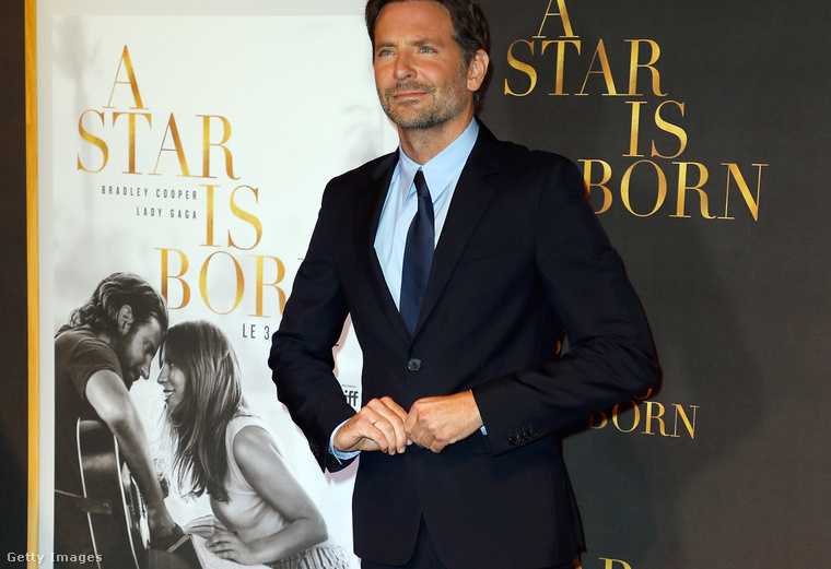 Bradley Cooper, a 2018-as Csillag születik rendezője és főszereplője.