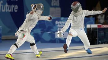 Magyar kardozók vezérletével nyert az európai vegyescsapat az Ifjúsági Olimpián