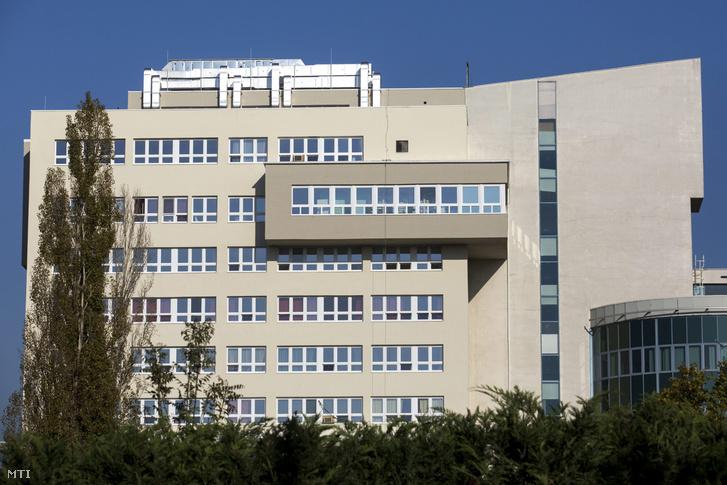A budapesti Gottsegen György Országos Kardiológiai Intézet főépülete 2014. október 28-án.