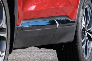 Érdekes megoldás a króm egy kicsit sárba szánt autón