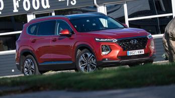 Menetpróba: Hyundai Santa Fé 2.2 CRDI – 2018.