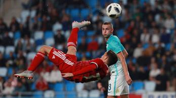A magyarok legyőzték Szlovéniát az U19-es Eb-selejtezőn, Szoboszlai nagy gólt lőtt