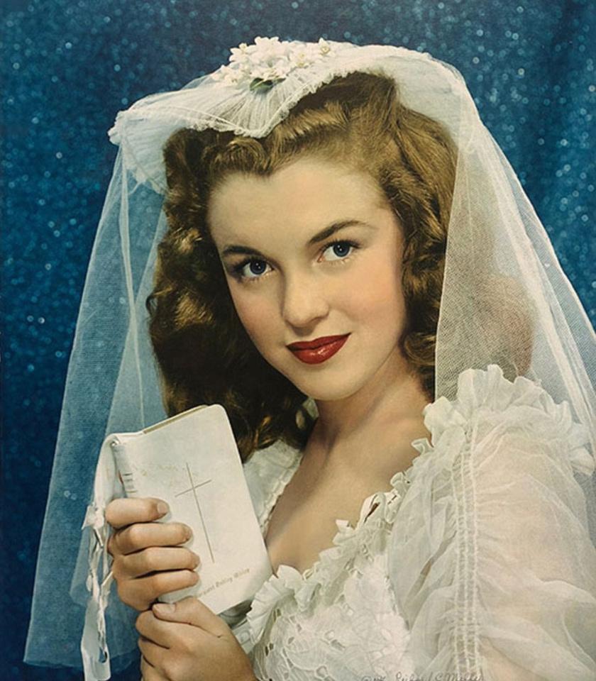 A fotó a Personal Romances című magazin 1947. júniusi számának borítóképe lett.