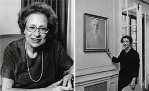 Viloa W. Bernard és Justine Wise