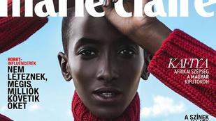 Egy Afrikából hazánkba menekült modellt tett a címlapjára a Marie Claire