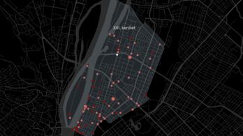 A 13. kerületben volt a legtöbb bringásbaleset
