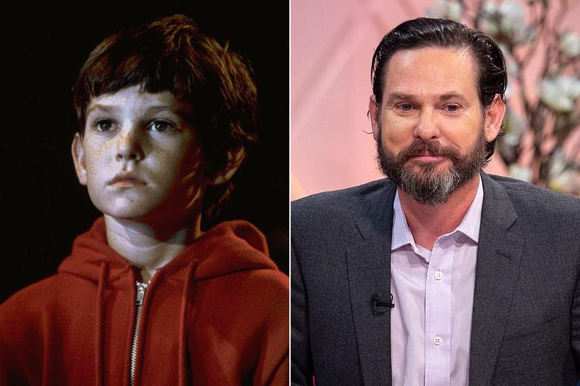 Elliott, azaz Henry Thomas 1982-ben és 2018-ban