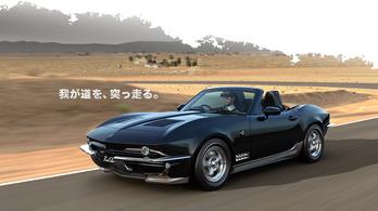 Igazi rocksztár a Corvette formájú Mazda