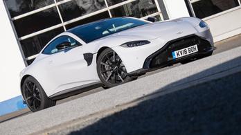Teszt: Aston Martin Vantage - 2018.