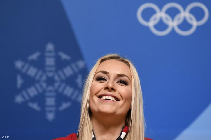Lindsey Vonn a phjongcshangi olimpián
