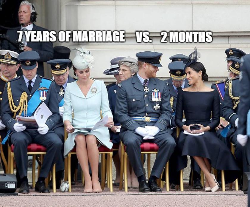 7 év házasság vs. 2 hónap.