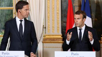 Macron belekezdett az Orbán dolgát nehezítő mestertervbe
