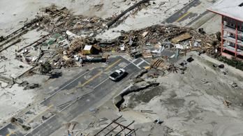 Kő kövön nem maradt a Michael hurrikán után