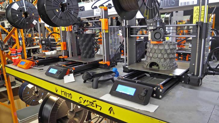 A Prusa Research 3D nyomtatói
