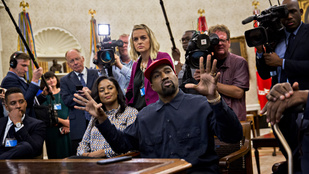 Kanye West motherfuckerezéssel vitt új színt a Fehér Ház mindennapjaiba