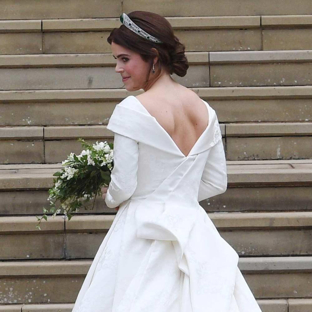 3d4388a1ef Eugénia hercegnő álomszép esküvői ruhában - A királynő unokája ...