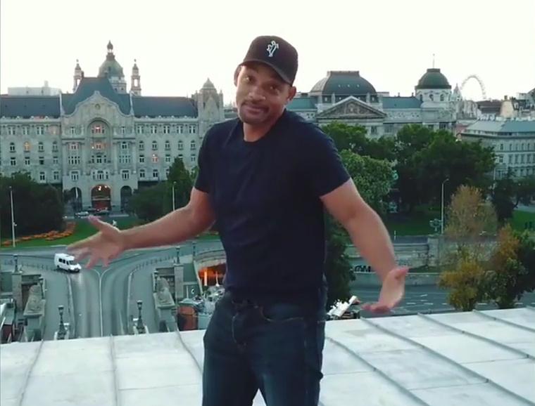 Hogy kerül ide a Lánchíd tetején táncoló Will Smith, akinek 3 gyereke is született feleségétől?
