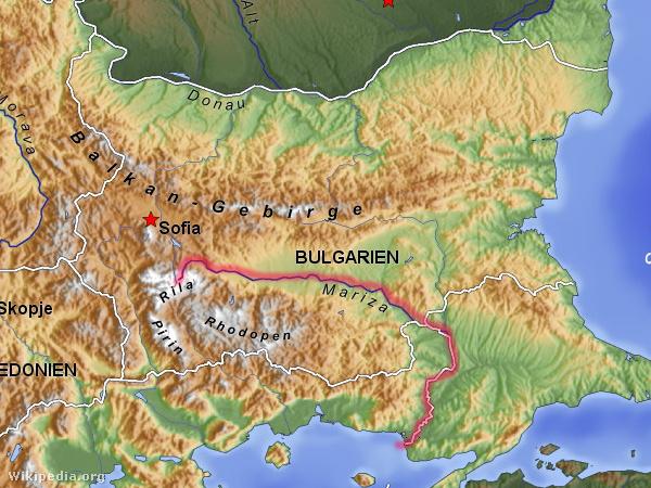 A Marica (bolgárul: Марица [Marica], görögül: ¨Εβρος [Evrosz], törökül: Meriç Nehri) folyó