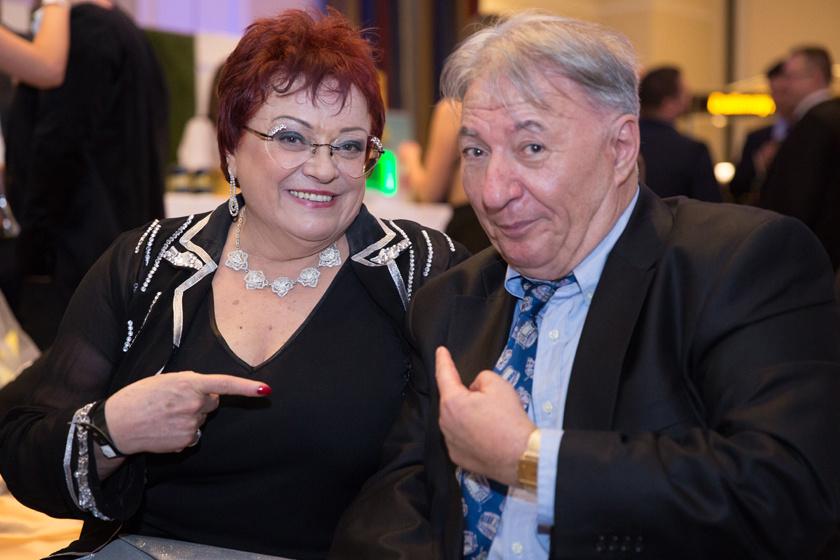 Pál Éva és Bardóczi Gyula a 2018-as Story-gálán.