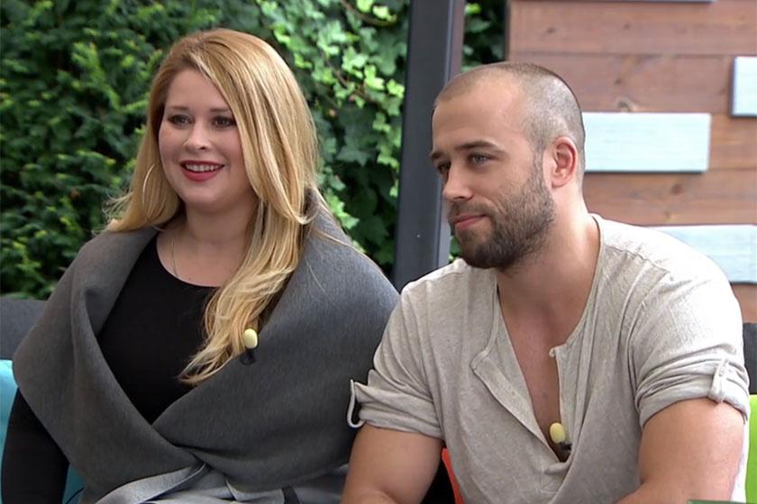 Király Linda és párja Zsombor. A jóképű férfi bolondul az énekesnőért, úgy szereti, ahogy van.