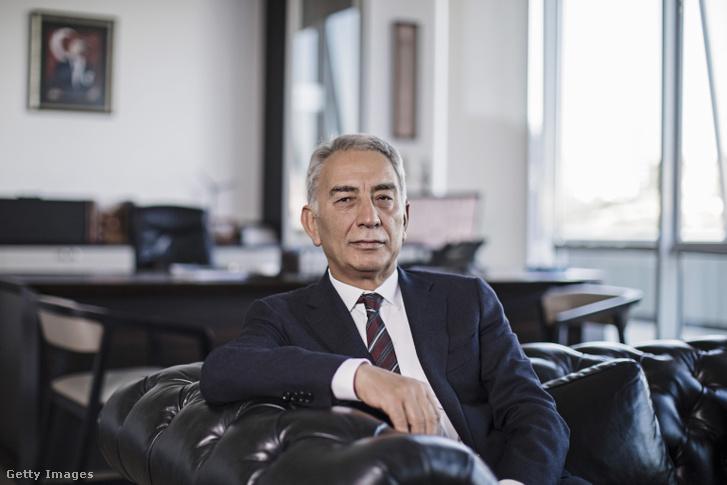 Adnan Polat török üzletember, a Galatasaray S.K volt elnöke