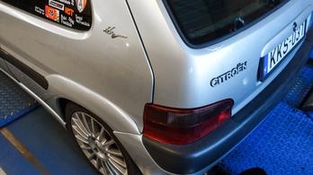 Totalcar Erőmérő: Citroen Saxo 1.6 VTS – 2001.