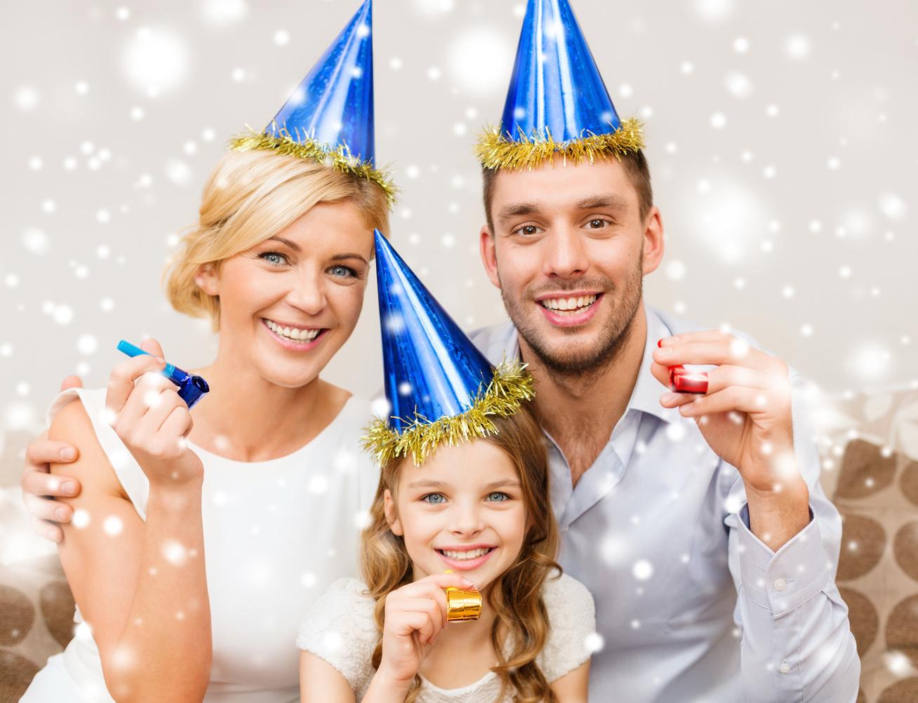 gyerek család szilveszter buli