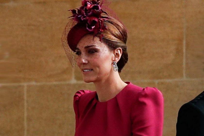 Katalin hercegné málnaszínű ruhában tündökölt az esküvőn - Ő volt a legszebb