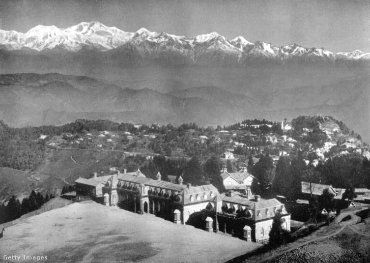 Darjeeling látképe 1910-ben