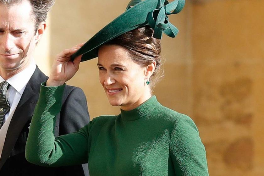 Katalin hercegné húga 9 hónapos terhesen ment el a királyi esküvőre