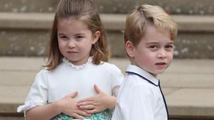 Kétség kívül Sarolta hercegnő és György herceg volt a főszereplő Eugénia hercegnő esküvőjén