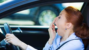 Ha nem aludtál rendesen, ne vezess, mert olyan, mintha részeg lennél