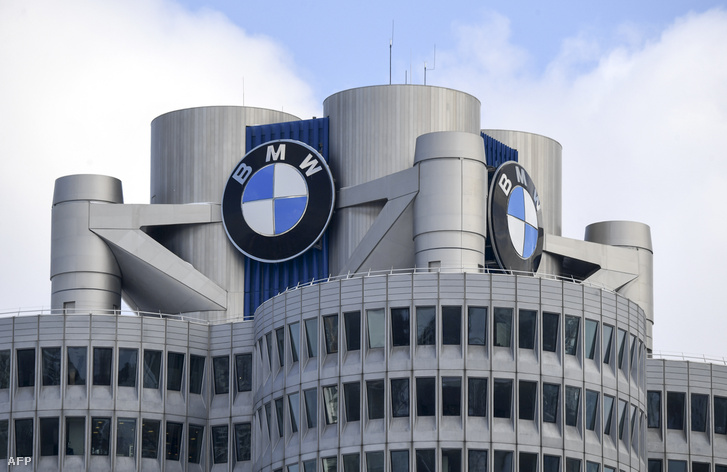 A BMW központja Münchenben