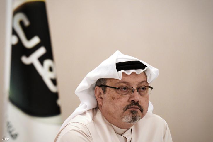 Hasogdzsi 2014-ben, az Alarab TV vezérigazgatójaként