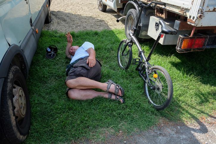 Endre egy ellopott, Gilera-nézős tíz percben
